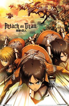Image for Attack on Titan Poster - Attack