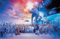 Image for Star Wars Poster - Galaxy