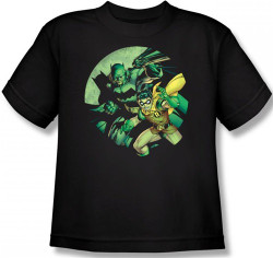 Image for Batman Youth T-Shirt - Batman & Robin
