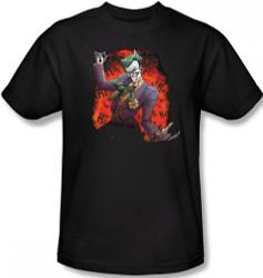 Image Closeup for Batman T-Shirt - Joker's Ace