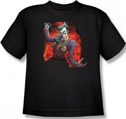 Image for Batman Youth T-Shirt - Joker's Ace