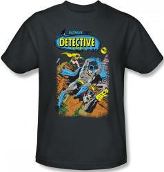 Image Closeup for Batman T-Shirt - Detective #487 Cover