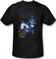 Image Closeup for Batman T-Shirt - Arkham Asylum Arkham Killer Croc