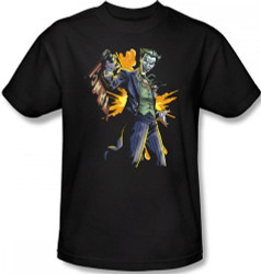 Image Closeup for Batman T-Shirt - Joker Bang