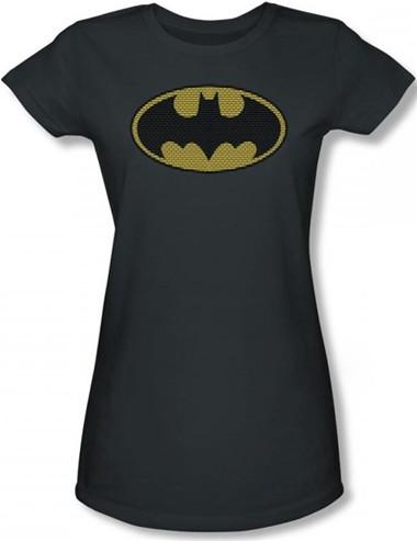 Image for Batman Girls T-Shirt - Little Logos Logo