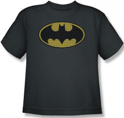 Image for Batman Youth T-Shirt - Little Logos Logo