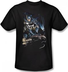 Batman T-Shirt - Perched Image 2