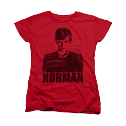 Image for Bates Motel Woman's T-Shirt - Norman