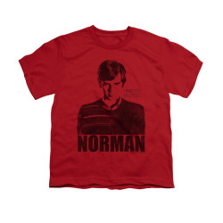 Image for Bates Motel Youth T-Shirt - Norman