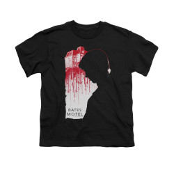 Image for Bates Motel Youth T-Shirt - Criminal Profile