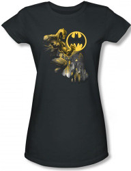 Image for Batman Girls T-Shirt - Bat Signal