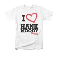 Image for Californication T-Shirt - I Heart Hank Moody