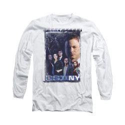 Image for CSI NY Long Sleeve T-Shirt - Watchful Eye