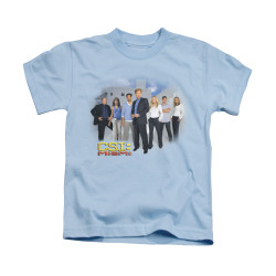 Image for CSI Miami Kids T-Shirt - Miami Cast