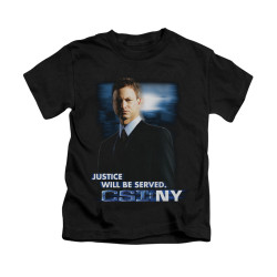 Image for CSI: NY Kids T-Shirt - Justice Served