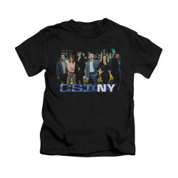 Image for CSI: NY Kids T-Shirt - Cast