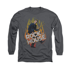 Image for House Long Sleeve T-Shirt - Rock the House
