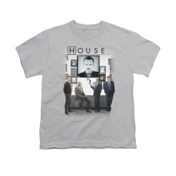 Image for House Youth T-Shirt - The Cast