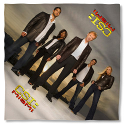 Image for CSI: Miami Bandana - Cast