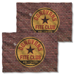 Image Closeup for Ray Donovan Pillow Case - Fite Club