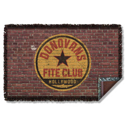 Image for Ray Donovan Woven Throw Blanket - Fite Club