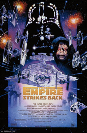 Image for Star Wars Poster - the Empire Strikes Back