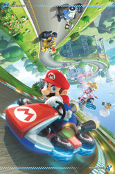 Image for Mario Poster - Mario Kart 8