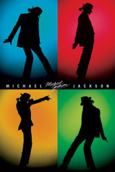Image for Michael Jackson Poster - Silhouette