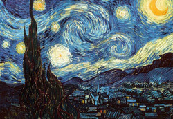 Image for Van Gogh Starry Night Poster