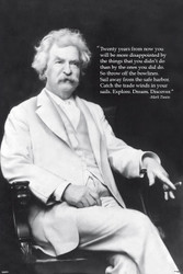 Image for Mark Twain Discover Poster