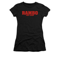 Image for Rambo Girls T-Shirt - Logo