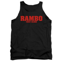 Image for Rambo Tank Top - Logo