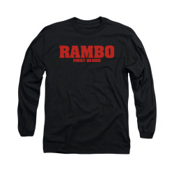 Image for Rambo Long Sleeve T-Shirt - Logo