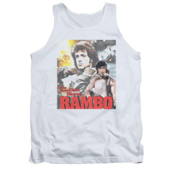 Image for Rambo Tank Top - They Drew First Blood