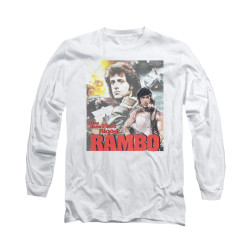 Image for Rambo Long Sleeve T-Shirt - They Drew First Blood