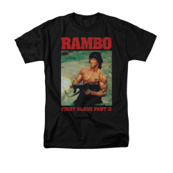 Image for Rambo T-Shirt - Dropping Shells