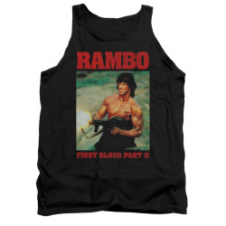Image for Rambo Tank Top - Dropping Shells