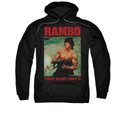 Image for Rambo Hoodie - Dropping Shells