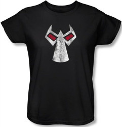 Image for Bane Womens T-Shirt - Mask