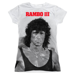 Image for Rambo Girls Sublimated T-Shirt - Stare