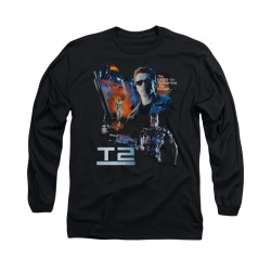 Image for Terminator 2 Long Sleeve T-Shirt - Battle