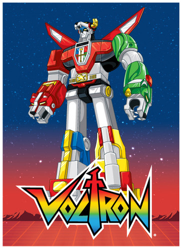 Image for Voltron Standing magnet