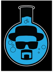 Image for Breaking Bad Blue Bong magnet