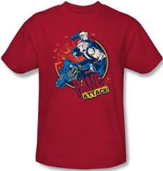 Image Closeup for Bane T-Shirt - Attack!
