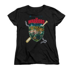 Image for the Warriors Woman's T-Shirt - Shield