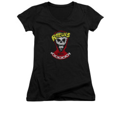 Image for the Warriors Girls V Neck T-Shirt - The Rogues