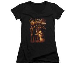 Image for the Warriors Girls V Neck T-Shirt - 9 Warriors