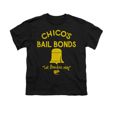 Image for Bad News Bears Youth T-Shirt - Chico's Bail Bonds