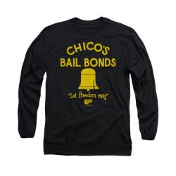 Image for Bad News Bears Long Sleeve T-Shirt - Chico's Bail Bonds