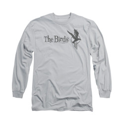 Image for The Birds Long Sleeve T-Shirt - Distressed